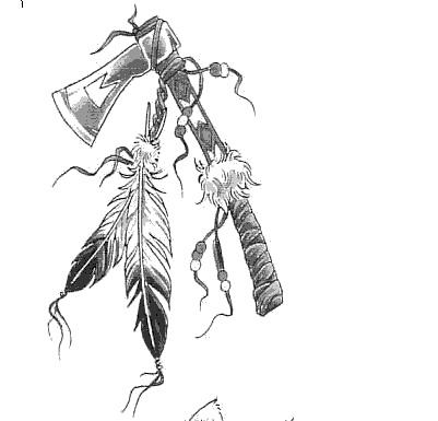 401x385 Tomahawk Tattoo Meaning