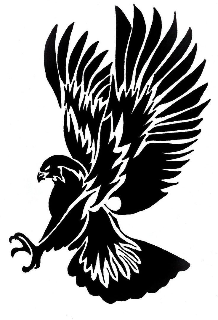 736x1076 39 Hawk Tattoos