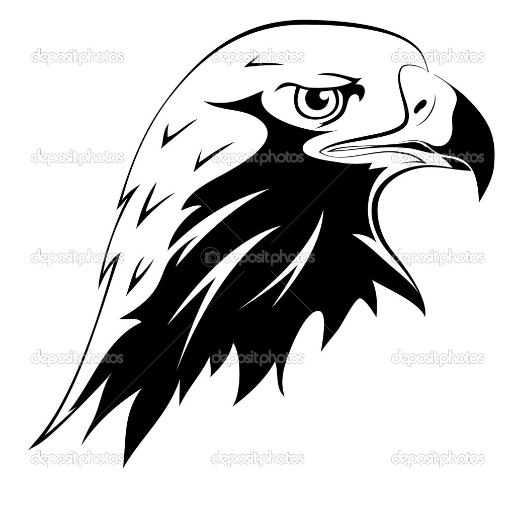 1024x1024 Airplane Logo Tracing Templates Art Hawks Falcon Head Tattoo