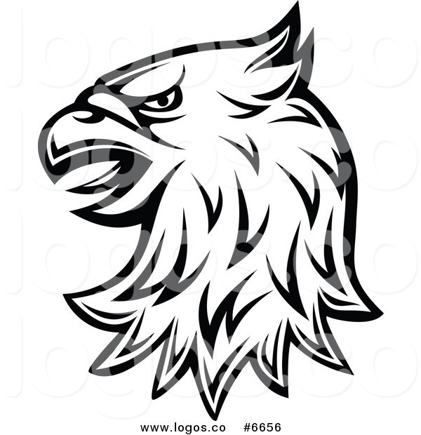 600x620 Royalty Free Clip Art Vector Logo Of A Black And White Heraldic