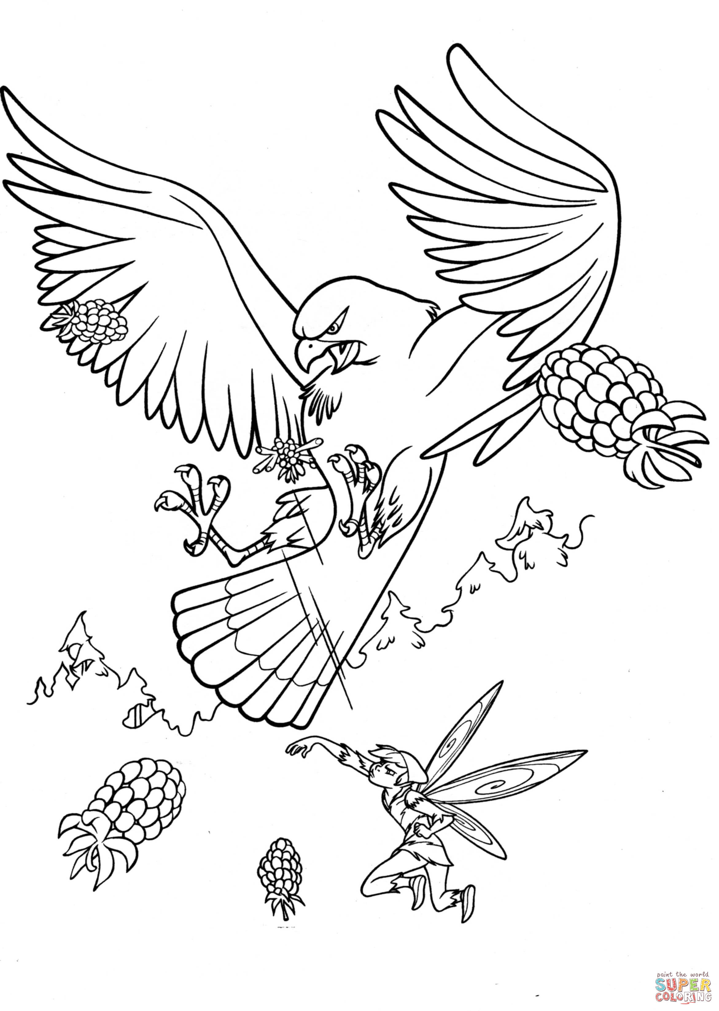 2342x3291 Big Hawk Coloring Page Free Printable Coloring Pages