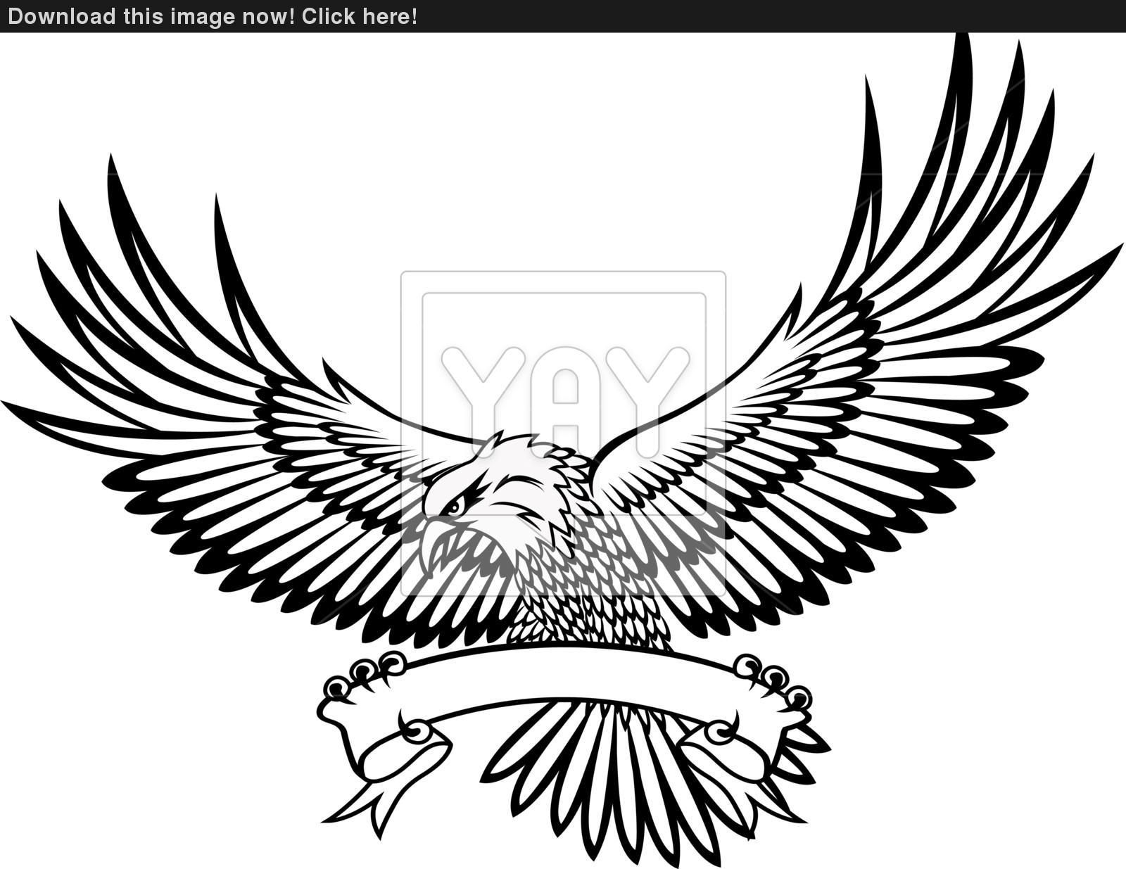 1600x1235 Vector Illustration Of Eagle Emblem Vector
