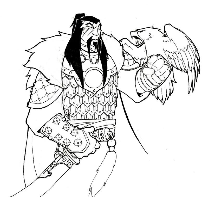 800x756 Hawk Talons Drawing