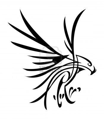 350x400 Hawk Tattoo Stock Photos Images, Royalty Free Hawk Tattoo Images