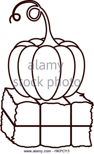 329x540 Hay Bale Stock Vector Images