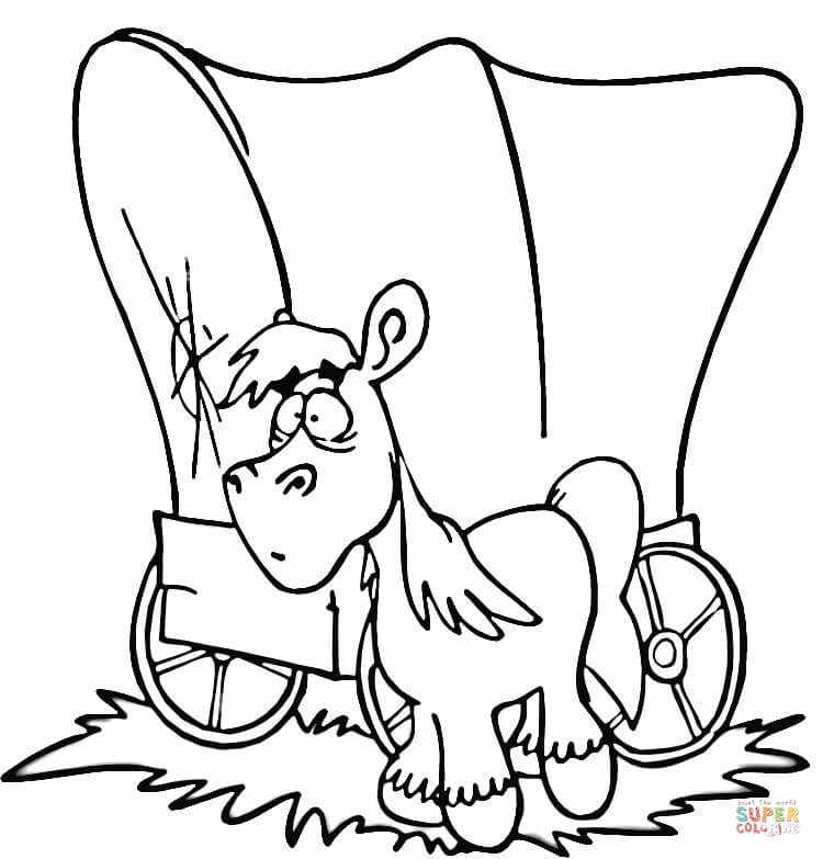 750x783 Hay Wagon Coloring Page Free Printable Coloring Pages