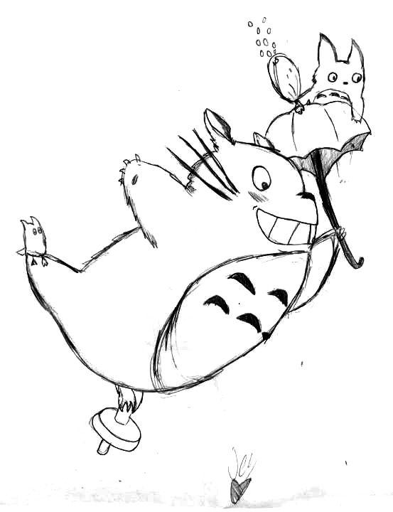 Hayao Miyazaki Drawing at GetDrawings   Free download