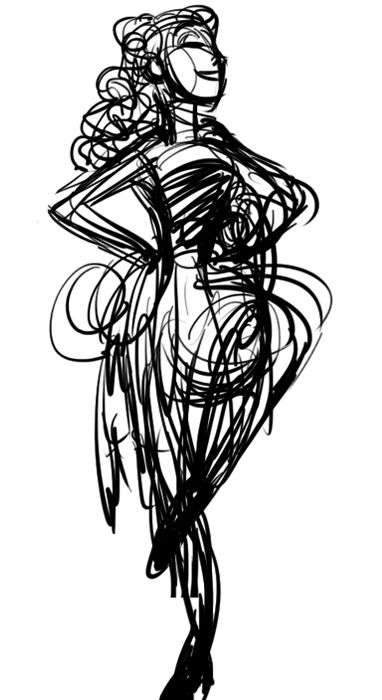 Haystack Drawing