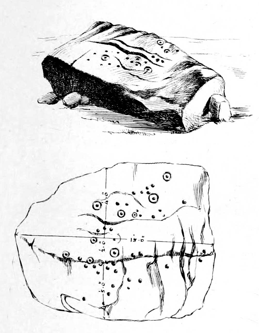 1004x1289 Haystack Rock, Ilkley Moor, West Yorkshire The Northern Antiquarian