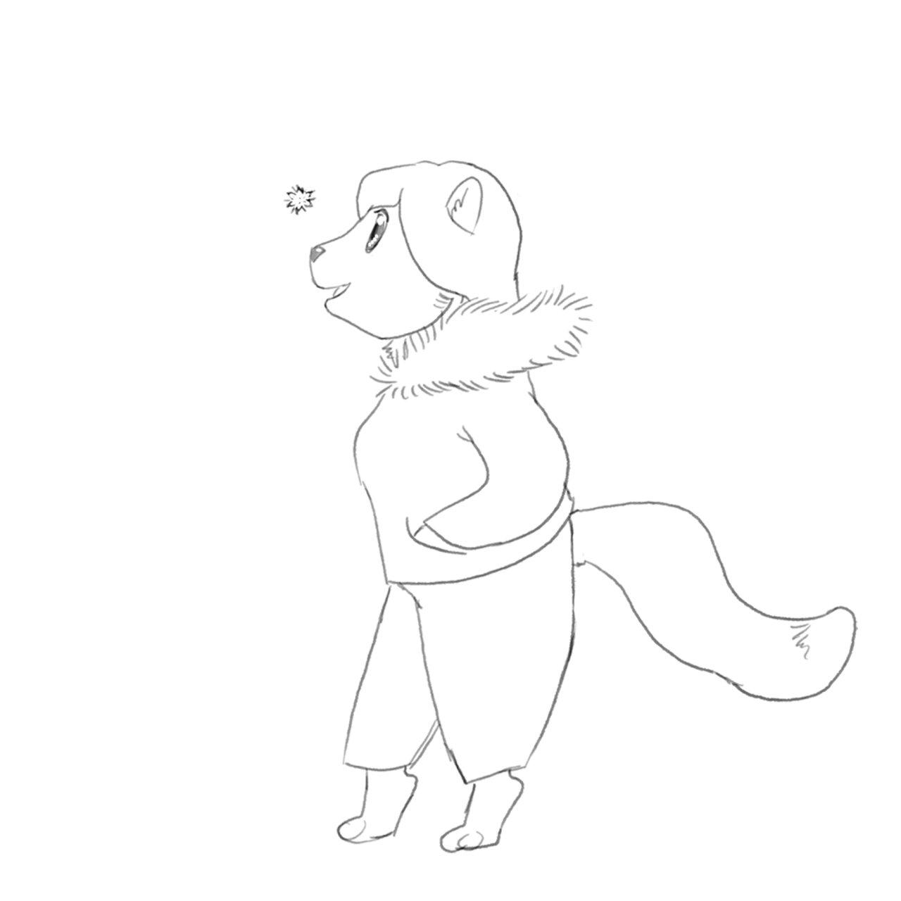 1280x1280 Haystack Chibi Sketch Weasyl