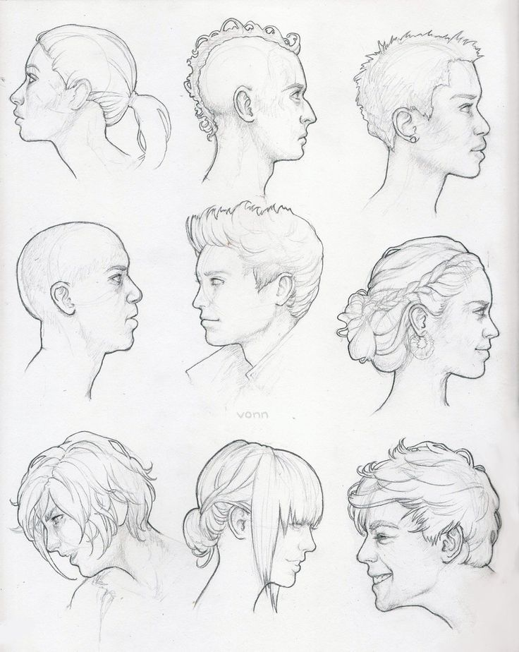 736x924 Image Result For Head Profile Reference Art Amp Drawing