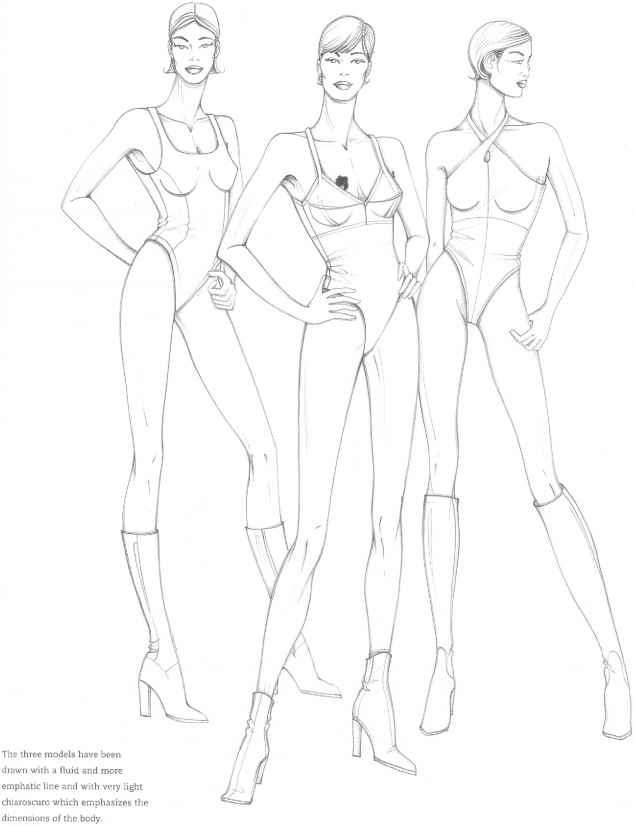 635x826 Pin By Miroslava Orozco On Figurines Drawing Women