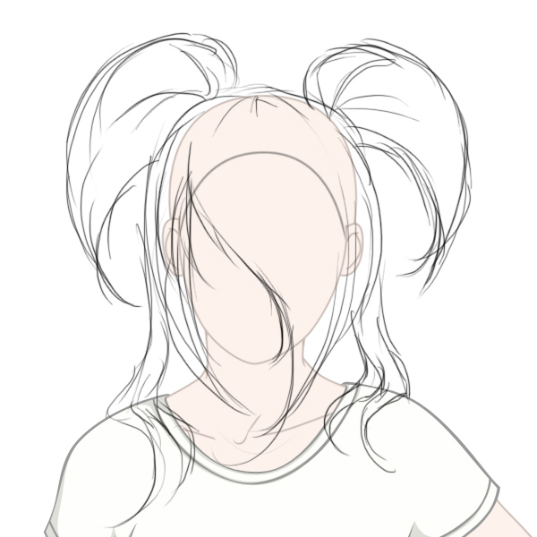 600x600 Create Big Gravity Defying Anime Styled Hair In Adobe Photoshop