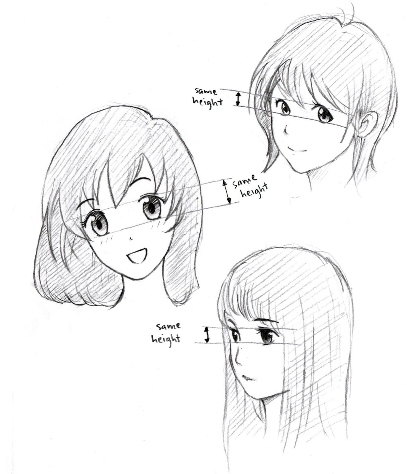 1374x1600 Johnnybro's How To Draw Manga How To Draw Manga Eyes (Part Iii)