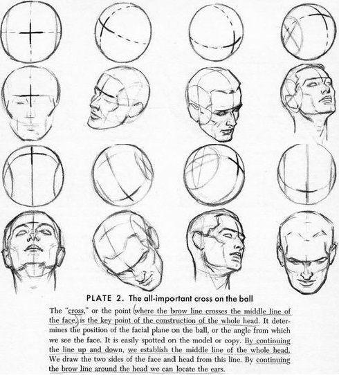 490x542 Resultado De Imagen Para Head Angles Tutorial Tumblr