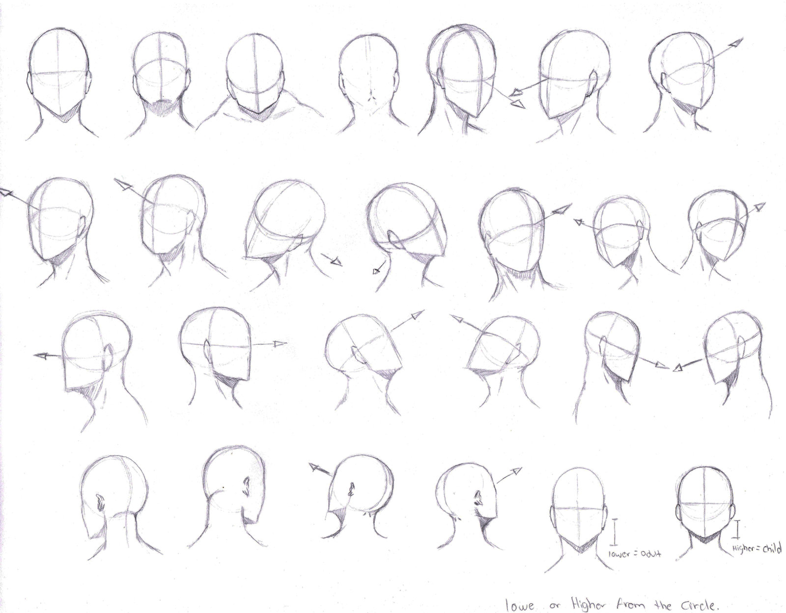 1600x1248 Drawing Anime Heads At Different Angles