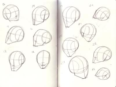 400x302 Art Help With Andrew Loomis Planar Head Studies