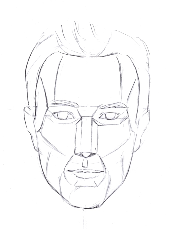 597x800 Construction Of The Face 2 Like Sketch