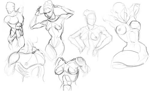 500x324 Figure Drawing For Entertainment Design