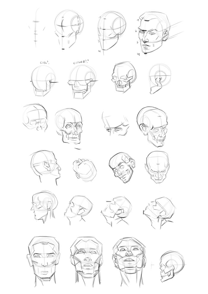 700x990 Life Drawing Dublin Loomis + 45 Sec Amp 5 Min Figures