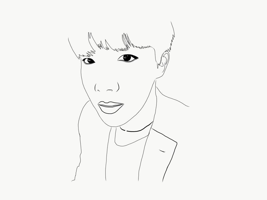 1024x768 Bts Outline Drawings Army's Amino