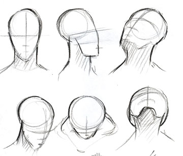 360x307 Advanced Projects In Computers Drawing Basic Face Head