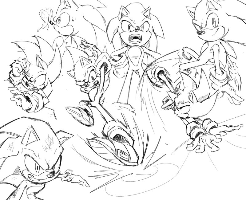 800x651 Action Poses