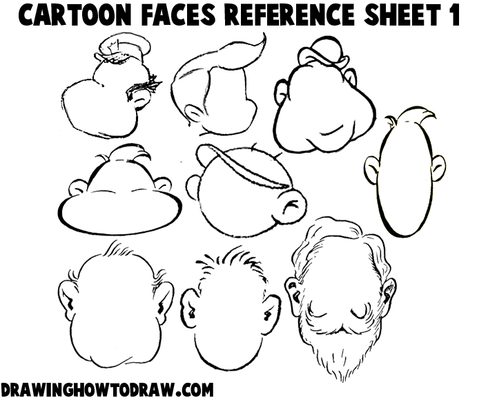 Head Reference Drawing At Getdrawings Com Free For Personal Use