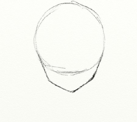 How To Draw The Shape Of An Anime Head