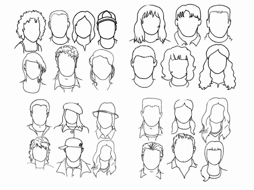1024x768 Cartoon Head Shapes Drawing Cartoon Head Shapes The Helpful Art