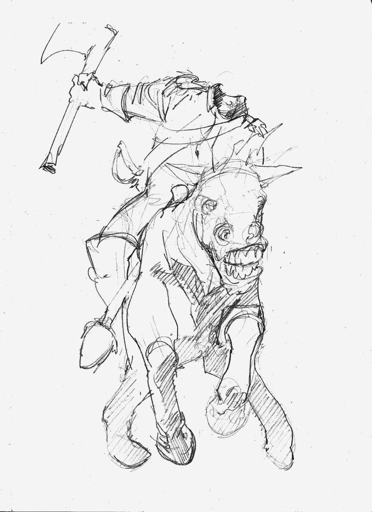 762x1048 Headless Horseman By Paul Moore