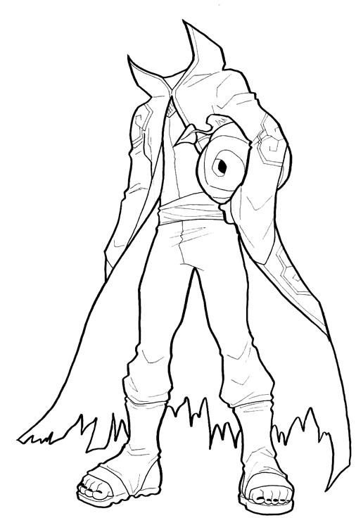 506x736 Tobi Headless Horseman Wip By Astrozerk