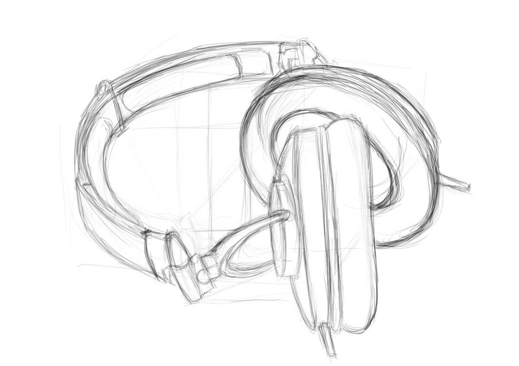 1064x750 Wearing Headphones Olivia Bellas