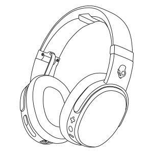300x300 Skullcandy Crusher Bluetooth Wireless Over Ear Headphone With Mic