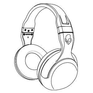 300x300 Skullcandy Hesh 2 Bluetooth Wireless Headphones With Mic (Black
