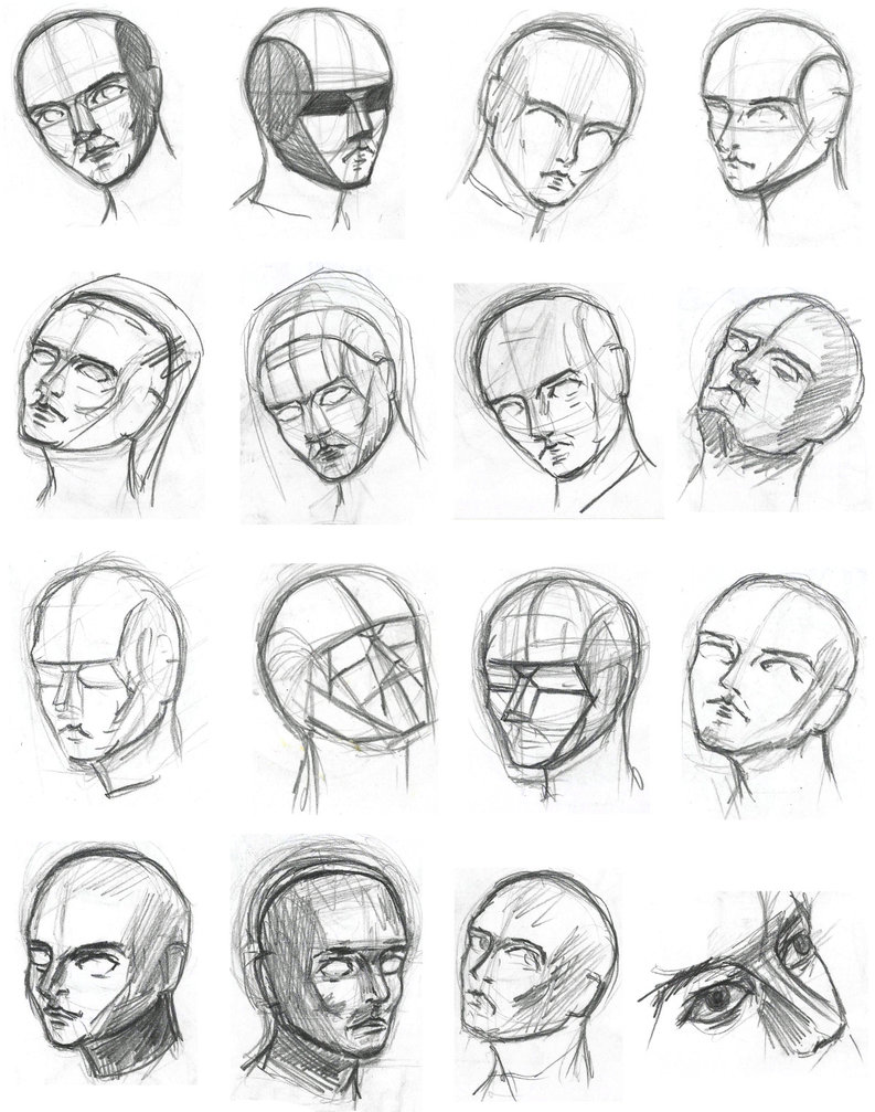 793x1007 Drawing Heads By Tulvit