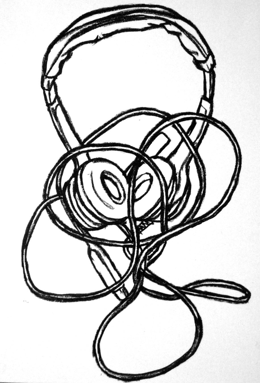 915x1344 Headset Drawings Art By Paul Doeman