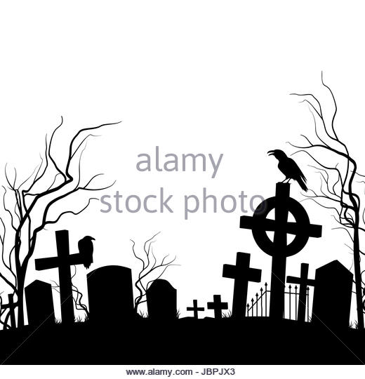 520x540 Crow On Tombstone Stock Photos Amp Crow On Tombstone Stock Images