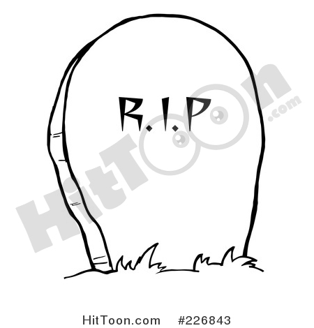 450x470 Headstone Clipart