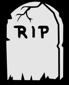 243x299 Rip Tombstone Clip Art