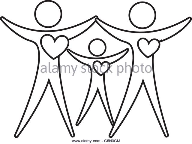640x479 Family Healthy Heart Isolated Icon Stock Photos Amp Family Healthy