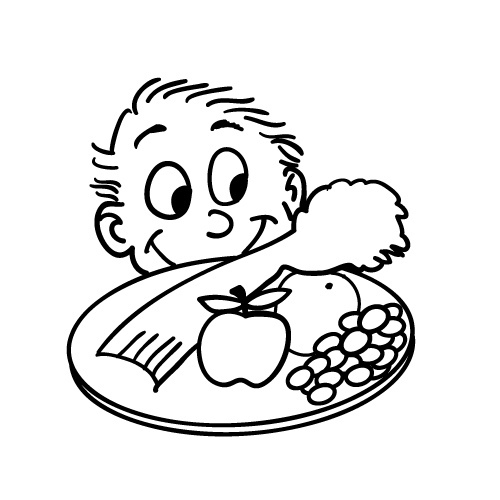 500x500 Copyright Free Cartoon Drawing Of Kid Looking