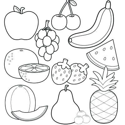 Healthy Food Drawing