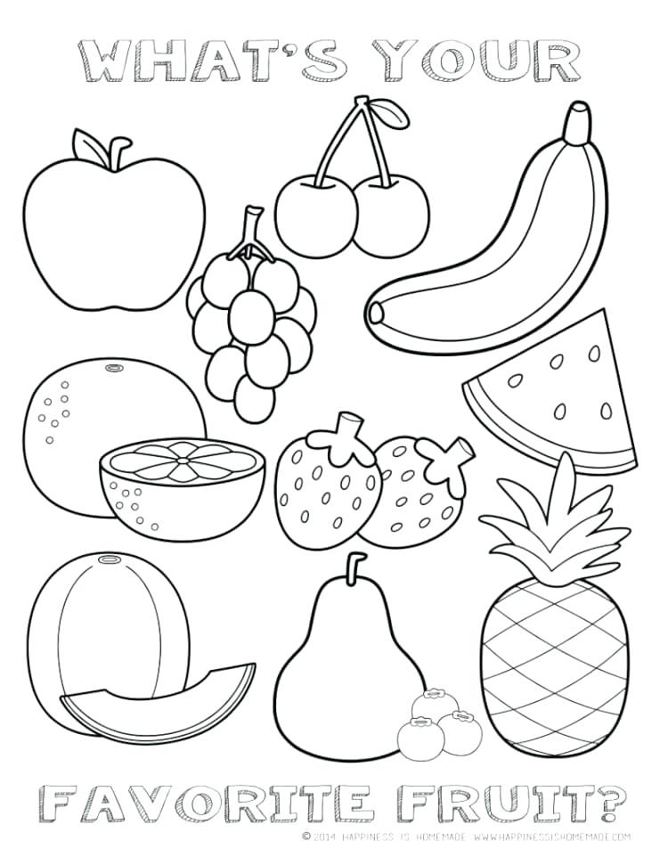 Healthy food drawing at free for for Healthy heart coloring pages