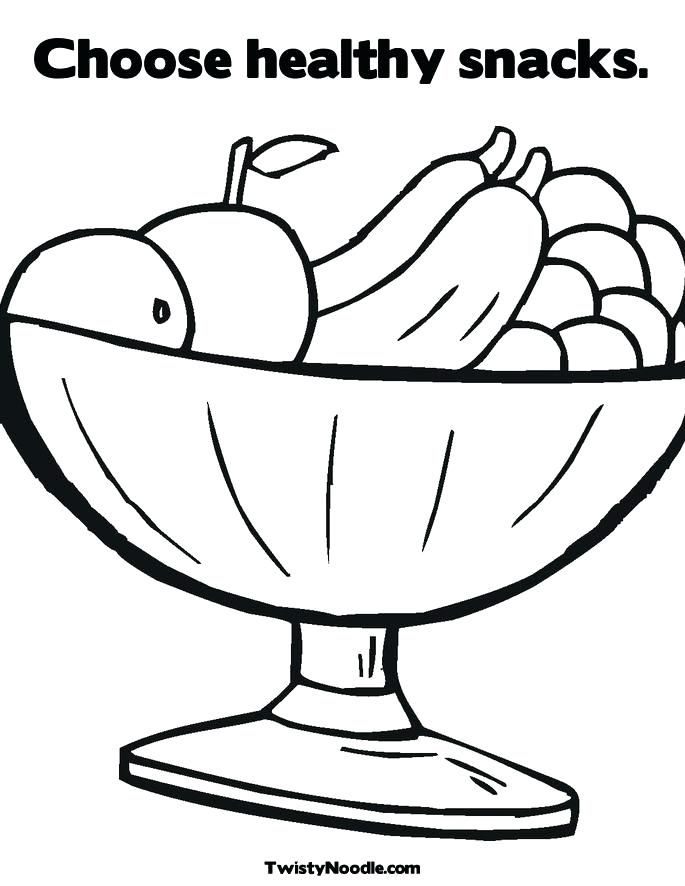 685x886 Healthy Coloring Pages Food Coloring Page Epic Healthy Food