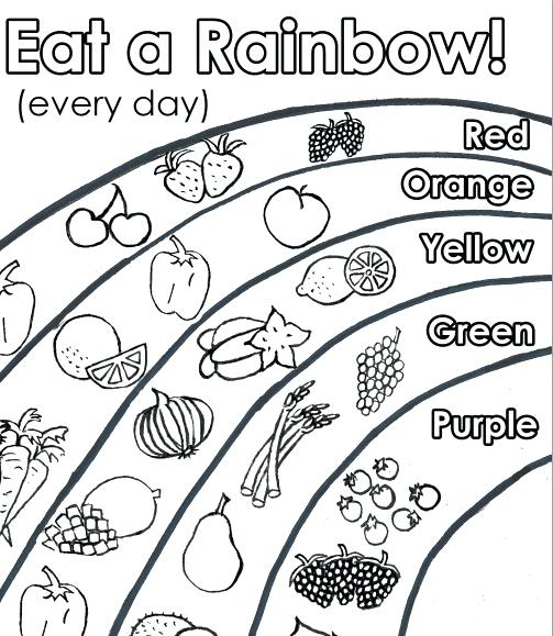 503x579 Healthy Food Coloring Page Healthy Food Coloring Pages The Good