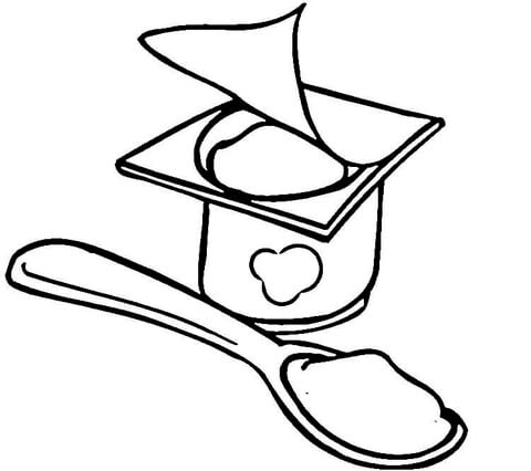 480x426 Healthy Food Coloring Page Free Printable Coloring Pages