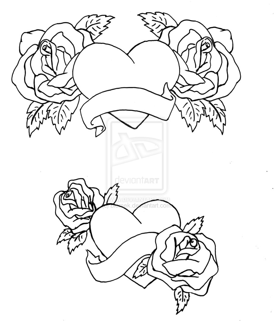900x1053 Hearts And Roses Coloring Pages Coloring Pages Heart Coloring