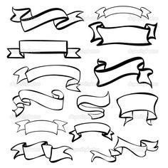 236x236 Vintage Label Design Elements Banners Ribbons Vintagelabel Badges