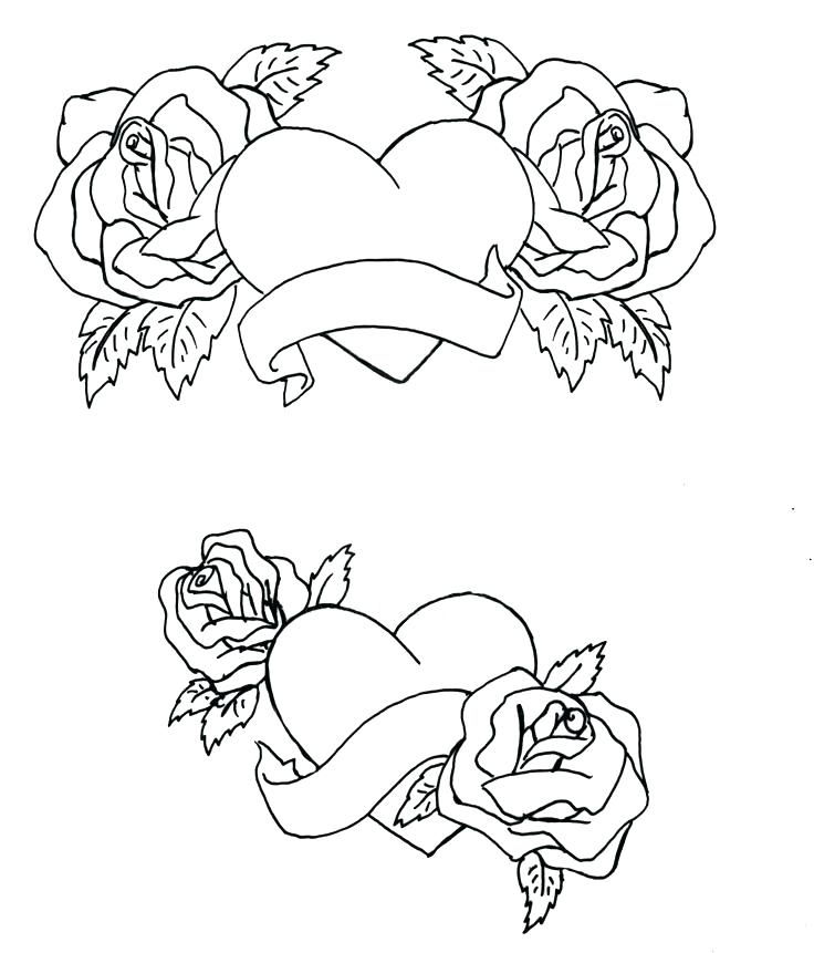736x861 Hearts With Wings Coloring Pages Coloring Pages Hearts With Wings